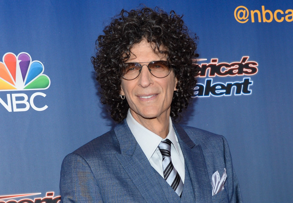 "Television personality Howard Stern arrives at the ""America's Got Talent"" pre-show red carpet at Radio City Music Hall on Tuesday, July 29, 2014, in New York. (Photo by Evan Agostini/Invision/AP) ORG XMIT: NYEA103"