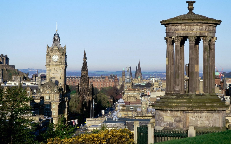 Architecture of Scottish Cities History